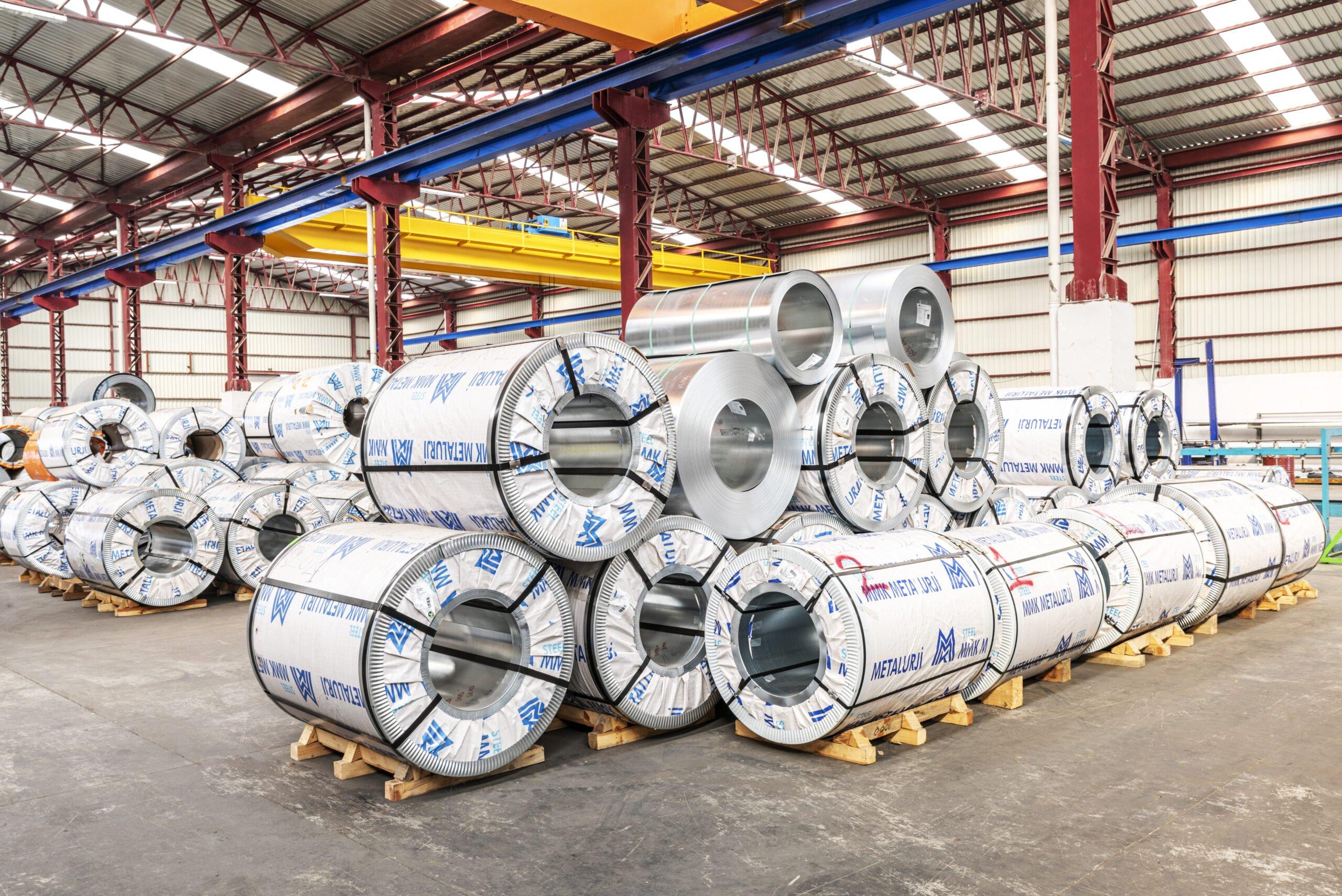 GALVANİZLİ RULO SAC | SCA Metal Soğuk Oda Panelleri